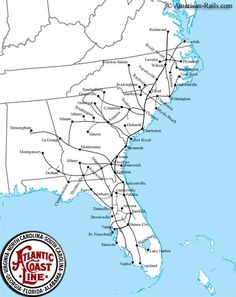 Amtrak Florida Map.315 Best Real Railroads Images In 2019 Maps Train Route Locomotive
