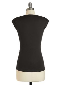 Seemingly Sew Top in Ink, #ModCloth