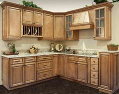 light stained wood cabinets - Google Search