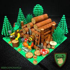 Lego Hacks, Lego Tree, Lego Sculptures, Lego Pictures, Amazing Lego Creations, Lego Activities, Lego Craft, Lego Room, Lego Worlds