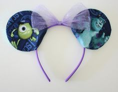 Monsters+Inc.+Mouse+Ears+by+Shopmymouse+on+Etsy