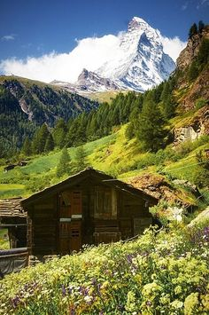 The Matterhorn is 4,478 metres (14,692 ft) high, making it one of the highest peaks in the Alps. The mountain overlooks the town of Zermatt.
