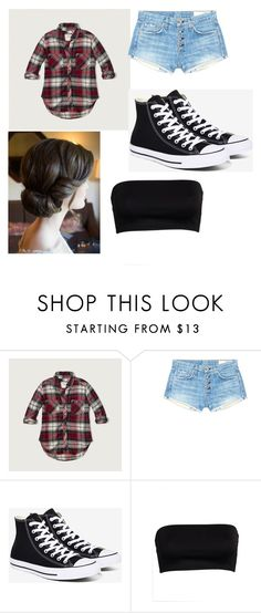 """me"" by alexielee on Polyvore featuring Abercrombie & Fitch, rag & bone/JEAN and Converse"