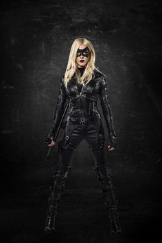 ARROW: First Look At Katie Cassidy As 'Black Canary'