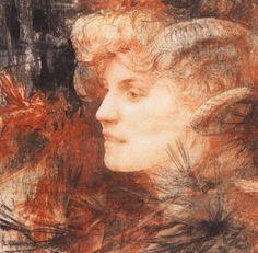 Faunesse - Edgar Maxence ~1907