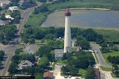 light houses in united states | Cape May Lighthouse