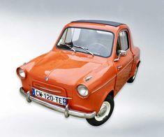Vespa 400, Motor Car, Cars, Vintage, Car, Automobile, Autos, Vintage Comics, Trucks