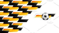 Soccer design by gigello Vector Illustrations, Graphic Illustration, Soccer, Templates, Abstract, Creative, Design, Art, Wall Cupboards