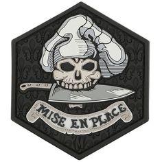 """Mise En Place 2.7"""" x 3.1"""" (SWAT)"""