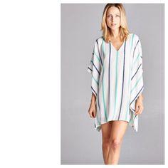 Striped Kimono Dress – Retropolitan