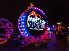 Summertime At Disney - Paint the Night Electrical Parade