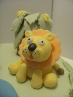 ROAR! Bear Cakes, Fondant, Fimo, Gum Paste, Candy