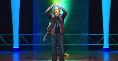 """Comedian Sings Classic Rock Songs, But With An """"Older"""" Twist via LittleThings.com"""
