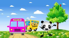Wheels On The Bus | NEW VERSION | Nursery Rhymes | For Kids & Babies