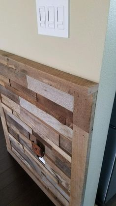 Reclaimed Rough Sawn Barn Wood Trim Best Picture For craftsman trim baseboard crown moldings For You Reclaimed Wood Wall Panels, Wood Panel Walls, Reclaimed Barn Wood, Wood Paneling, Wall Wood, How To Antique Wood, Vintage Wood, Table En Bois Diy, Barn Wood Projects