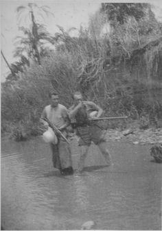 1938 Paese Galla fiume Robi nella foto il pittore Ermanno Besozzi