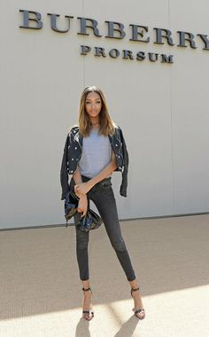 legs 11. #JourdanDunn #offduty in London.