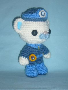 (4) Name: 'Crocheting : Octonaut Captain Barnacles crochet patt