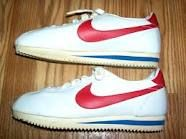 vintage leather nikes - I had these and thought they were cool at the time.