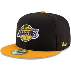 wholesale dealer dc771 8d551 Los Angeles Lakers New Era 2Tone 59FIFTY Fitted Hat - Black -  34.99 Lakers  Hat,