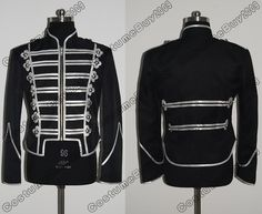 My Chemical Romance Military Parade Jacket Black - I would wear this all the time if I had one Dx