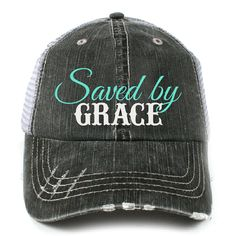Wholesale Women's Katydid Saved by Grace Western Trucker Hats