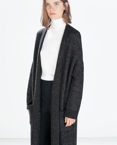 Image 1 of V-NECK CASHMERE SWEATER from Zara   Autumnal ...