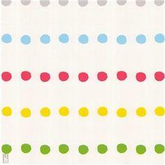 Barntapet Midbec Bubble Gum Dots 70499