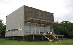Great small lot concept w/ light weight flooring. Casa Laguna El Rosario – Plataforma Arquitectura