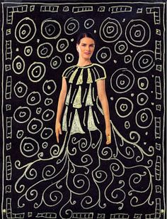 Art Projects for Kids: Gustav Klimt Drawing