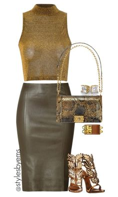 """""""Untitled #431"""" by emsdash ❤ liked on Polyvore featuring Jitrois, Glamorous, Chanel and Giuseppe Zanotti"""