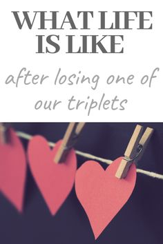 What life is like years after losing one of our triplets