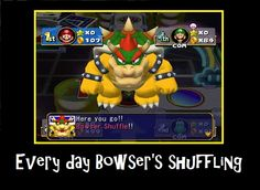Mario Party 4 Demotivational by on DeviantArt Mario Funny, Mario Memes, Funny Geek, Geek Humor, Mario Party, Super Mario, Bowser, Video Games, Nintendo