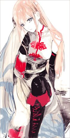 Tags: Anime, Gin Tama, Hair Buns, Alternate Hairstyle, Kagura (Gin Tama), Black Gloves, Single Bun