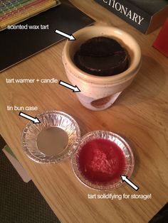 Wax Tart Scenter (Warmer) Storage. Here's a way to keep your tarts fresh for re-melting!