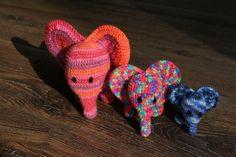 Crochet Amigurumi Elephant amigurumi gehäkelter Elefant