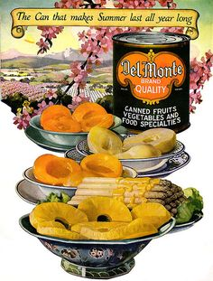 del monte fruit 1923 by Captain Geoffrey Spaulding, via Flickr
