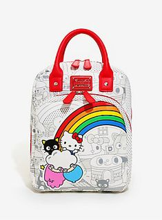 Loungefly Hello Sanrio Retro Mini Backpack - BoxLunch Exclusive, Hello Kitty  Gifts, Hello Kitty 9bda8a0b3c