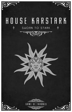 House Karstark: Sworn to Stark.