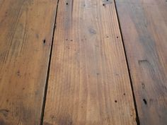 wax pine floor – love the matte finish – @Jordan Bromley {Picklee.com} too dark