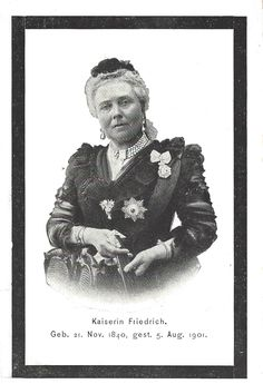 Royal Musings: Kaiser Friedrich III and Kaiserin Viktoria