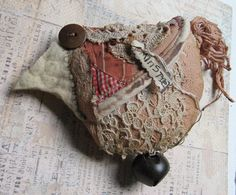 Minstrel Bird by Baggaraggs on Etsy