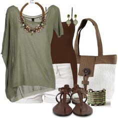 Green for Summer, created by jewhite76 on Polyvore