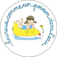 Expressions francaises - Heureux comme un poisson dans l'eau