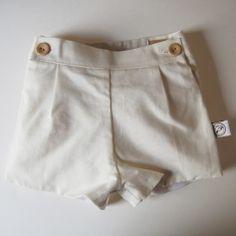 Pantalón corto lino | No llores patito