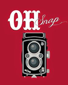 Items similar to Retro art-vintage camera print - typographic art poster - fun wall quote art - oh snap - dorm decor, office art, art print on Etsy Quotes About Photography, Camera Photography, Digital Photography, Poster Beer, Art Quotes Funny, Quote Art, Word To Your Mother, Retro Images, Advertising Signs