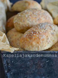 Scones, Bread Recipes, Hamburger, Rolls, Baking, Cupcakes, Kitchen, Cupcake, Bakken