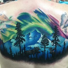 awesome Top 100 mountain tattoo - http://4develop.com.ua/top-100-mountain-tattoo/ Check more at http://4develop.com.ua/top-100-mountain-tattoo/