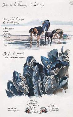 Watercolor Sketchbook, Art Sketchbook, Watercolor Art, Voyage Sketchbook, Travel Sketchbook, Inspiration Art, Sketchbook Inspiration, Art Du Croquis, A Level Art