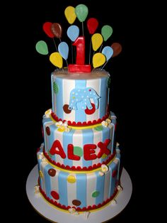 1st birthday cake for boys - Google Search